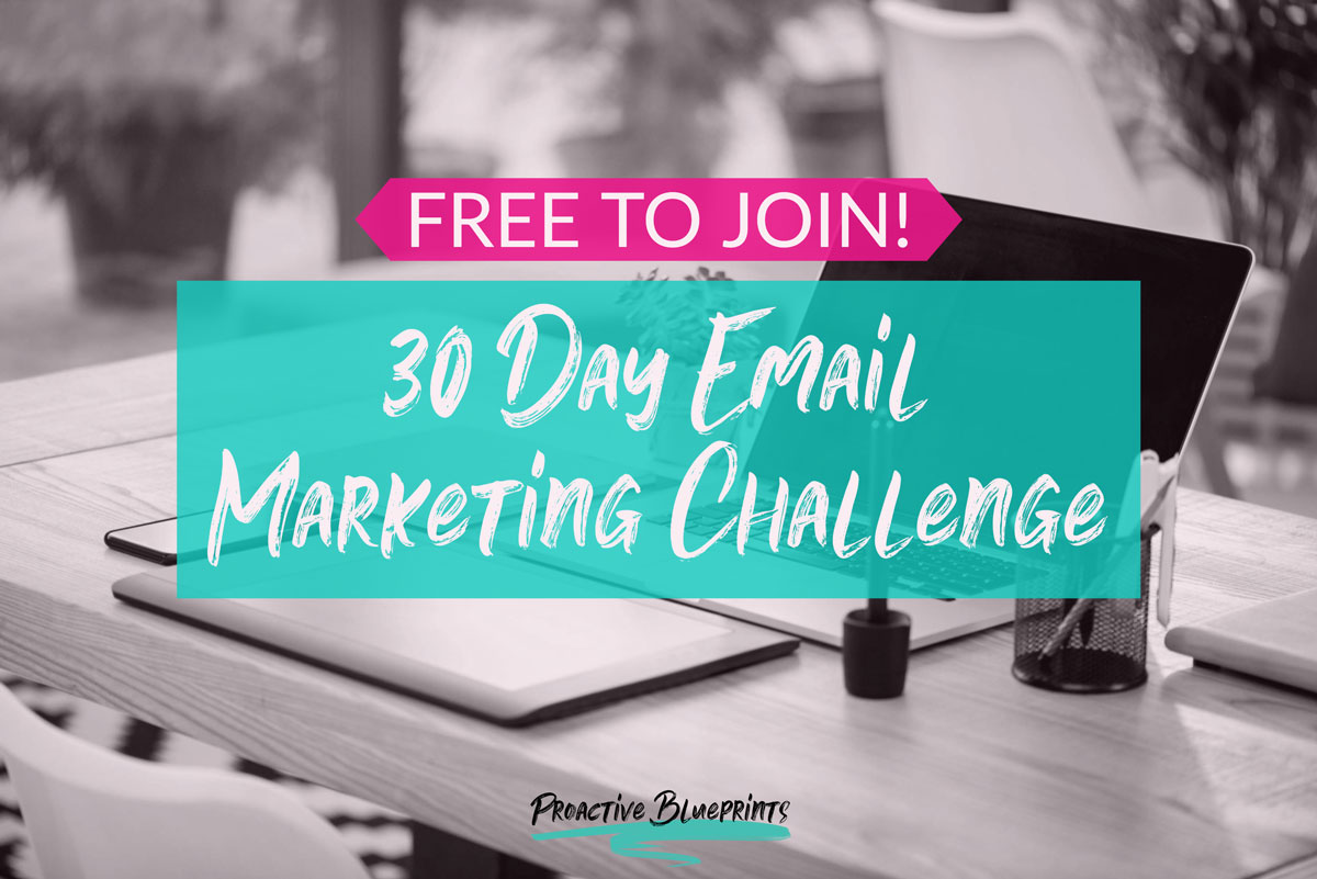 FREE Challenge: Grow Your List in Just 30 Days